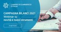 """10 maggio 2021 ore 10 - Webinar: novità della campagna bilanci 2021 Bilanci e nuovo ambiante di compilazione unico """"DIRE"""""""