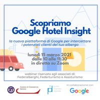 15 marzo - Google Hotel Insight
