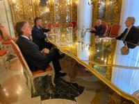 16 marzo 2021 - Visita dell'Ambasciatore del Messico a Palazzo Tobia Pallavicino