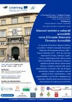 2 febbraio - Itinerari turistici e culturali accessibili: verso il Grande Itinerario Tirrenico Accessibile
