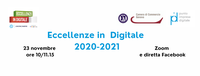 "23 Novembre 2020 – webinar:  ""Eccellenze in digitale 2020-2021"""