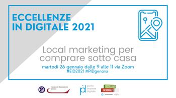 26 gennaio - 2° seminario Eccellenze in Digitale 2021