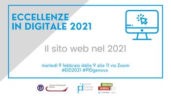 9 febbraio - 3° seminario Eccellenze in Digitale 2021