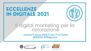 9 marzo - 5° seminario Eccellenze in Digitale 2021