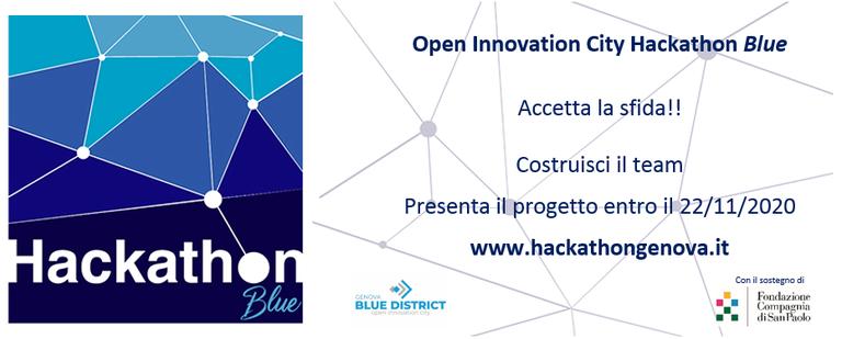 Fino al 22 novembre - 1° Hackathon a Genova sulla Blue Economy
