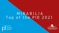 13 settembre 2021 - Aggioramento Premio Top of the PID e nuova edizione Mirabilia 2021 per imprese turistiche