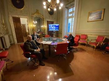 25 gennaio 2021 - Luigi Attanasio rieletto presidente della Camera di Commercio