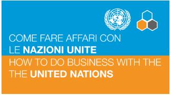 """26 novembre 2020 ore 9 - Webinar """"Come fare affari con le Nazioni Unite"""""""