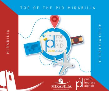 Premio Mirabilia Top of the PID 2020: 3000€ per le imprese più innovative nel turismo