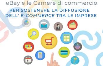 La partnership eBay e la Camera di Commercio per sostenere la diffusione del e-commerce tra le imprese