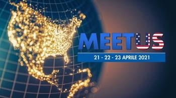 21 - 22 -23 aprile 2021 - Evento online: Meet U.S.