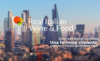 Manifestazione di interesse per il Real Italian Wine & Food
