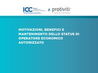 ICC Italia, survey AEO: motivazioni, benefici e mantenimento dello status di operatore economico autorizzato