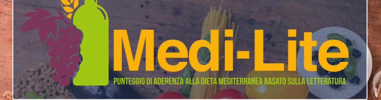 Compila il questionario sulla Dieta Mediterranea!